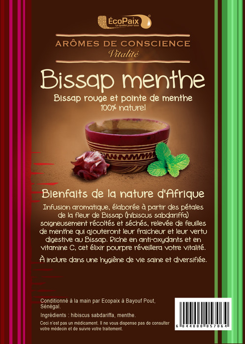 Bissap With A Hint Of Mint Herbal Tea