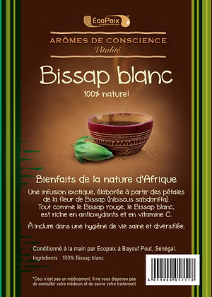 White Bissap Herbal Tea