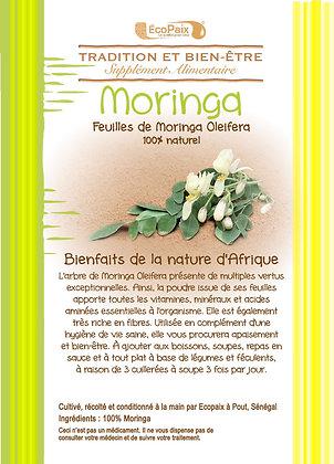 Ultra rich Moringa powder - Dietary supplement