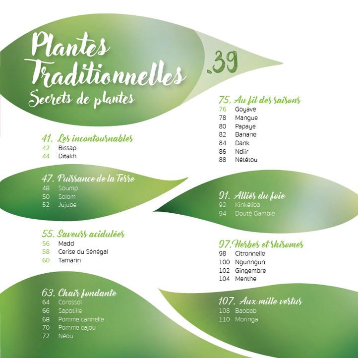 Sommaire - Secrets des plantes