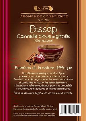 Bissap enhanced with cinnamon & cloves Herbal Tea