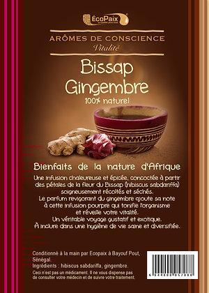 Bissap & Ginger Herbal Tea