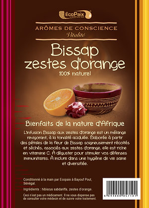 Bissap & Orange Zest Herbal Tea