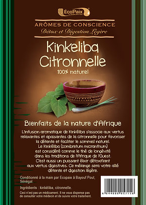 Kinkeliba Lemongrass Herbal Tea