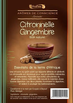 Lemongrass & Ginger Herbal Tea