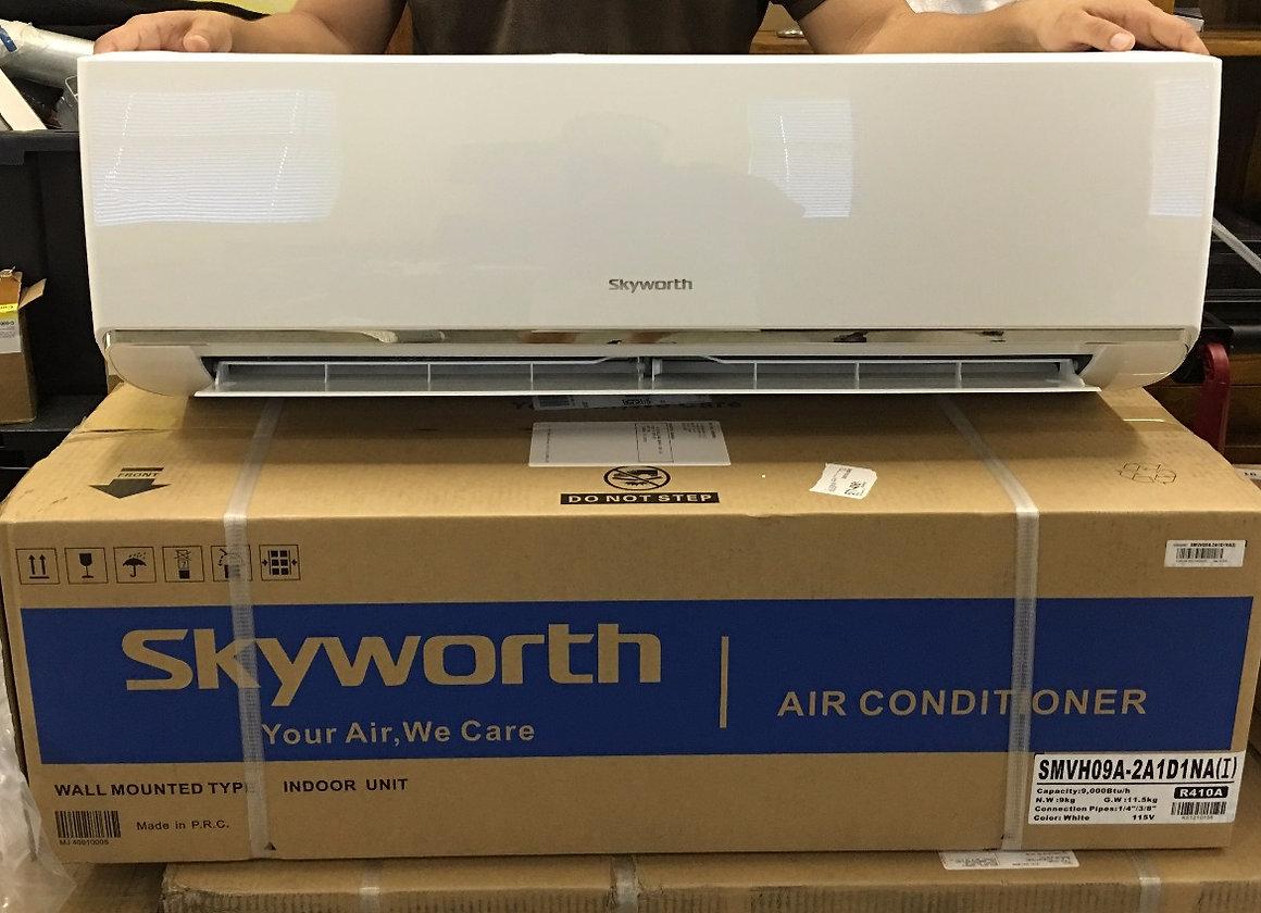 Single Zone 18,000 BTU, Cooling & Heating, 230V | skyworth-mini-split
