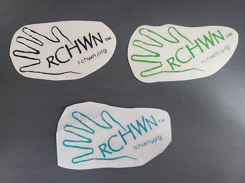 RCHWN Hand Decal