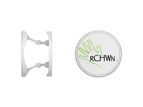 RCHWN Logo Hinged Phone Socket