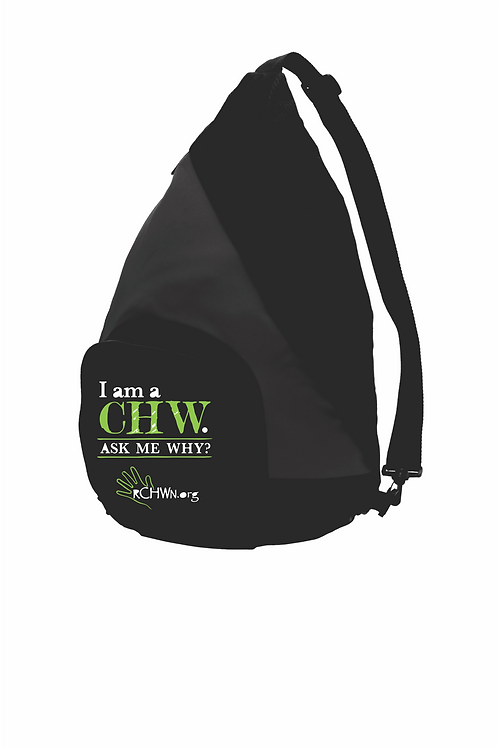 """I am a CHW"" Active Sling Bag"