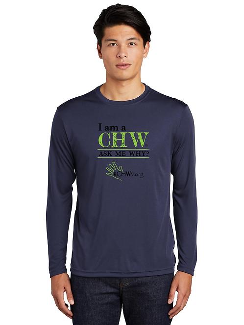 """I am a CHW"" Long Sleeve T-shirt"