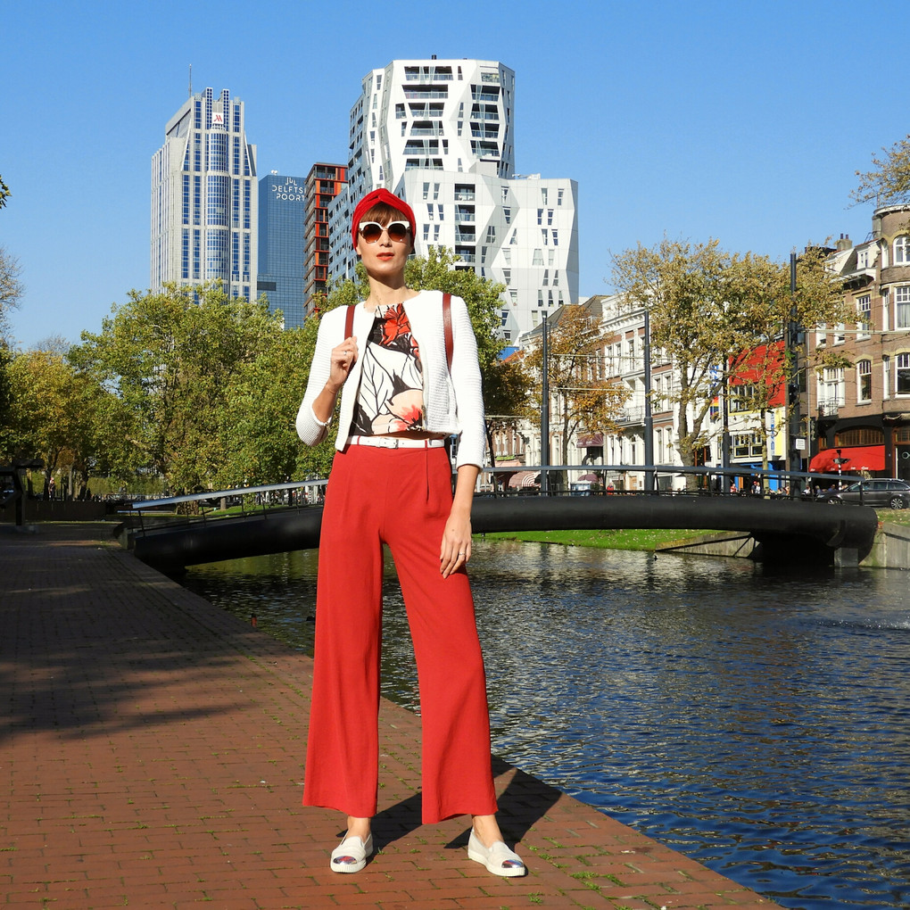 HOW TO WEAR THE CULOTTE