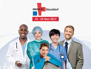 MEDICA 2017 в Дюссельдорфе