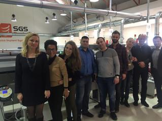 Российские врачи на заводе SGS