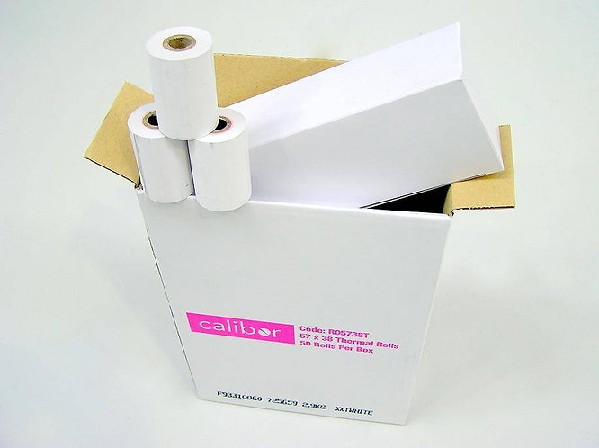 57x38 THERMAL EFTPOS ROLL (BOX OF 50)