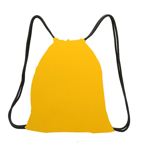 Promotion Drawstring Bags Yellow