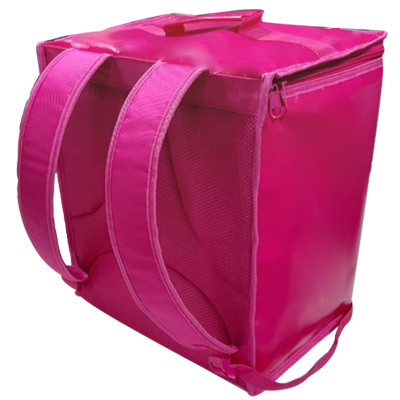 36L food delivery bag top open