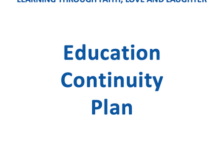 Education Continuity Plan