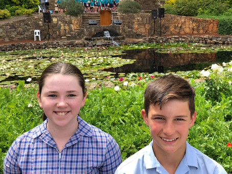 Remembrance Day Service at Araluen