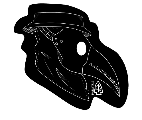 Plague Doctor Sticker
