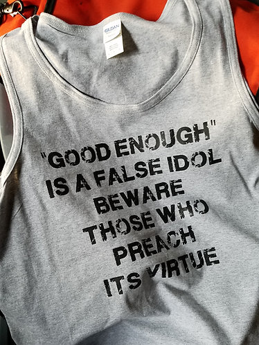 False Idol tank top