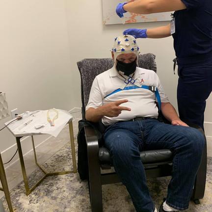 First EEG Brain Scan!