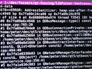 Fuzzing Qt with libFuzzer