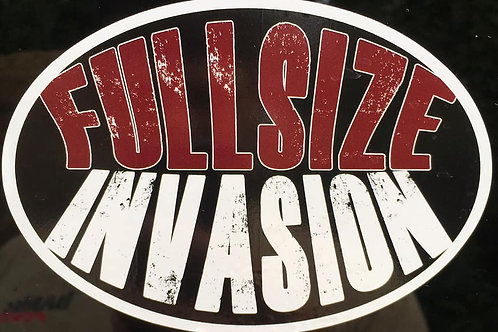 Fullsize Invasion Sticker