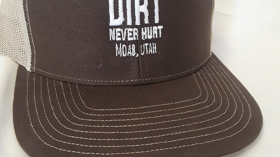 """""""A Little Dirt"""" snapback cap"""