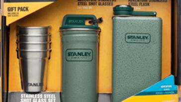 Steel Shots & Flask Gift Set