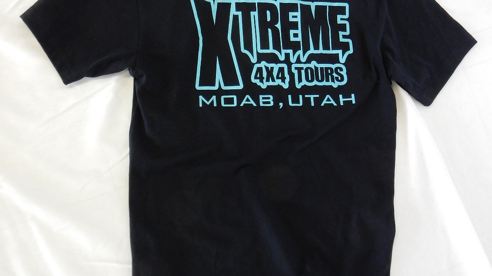Xtreme 4x4 Tours Logo Tee