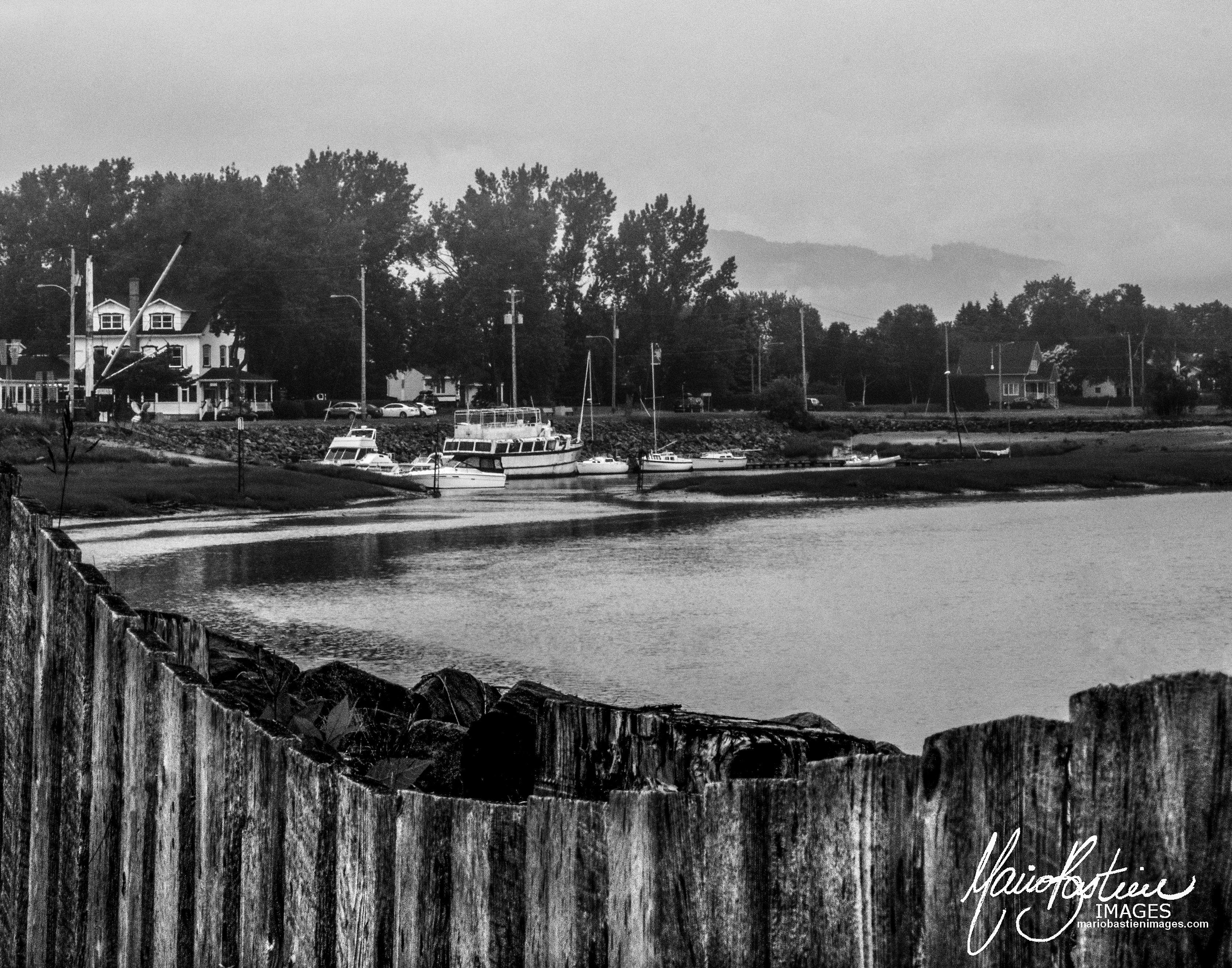 Marina , Quai de Baie St- Paul