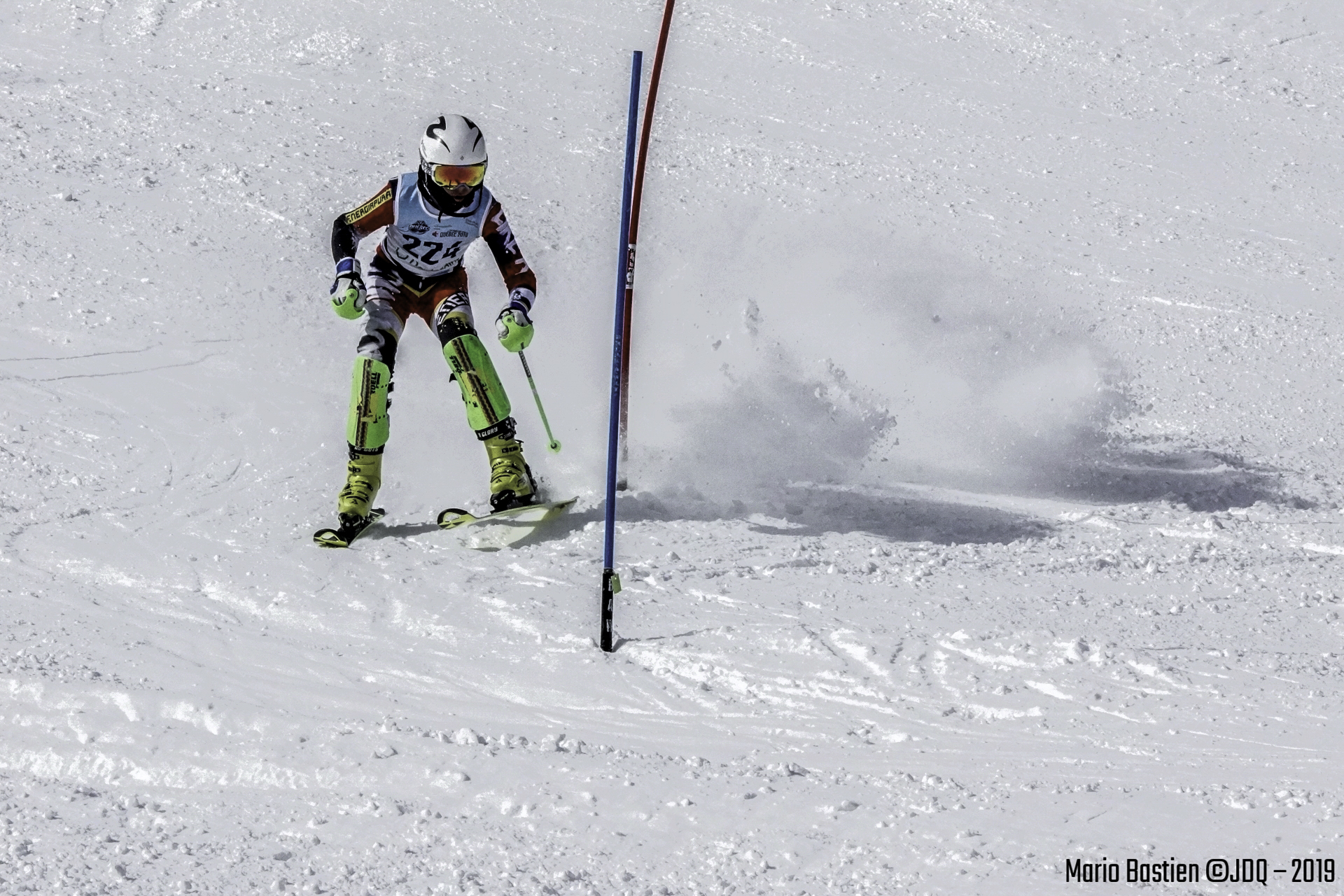 Slalom(Jeux Du Québec)