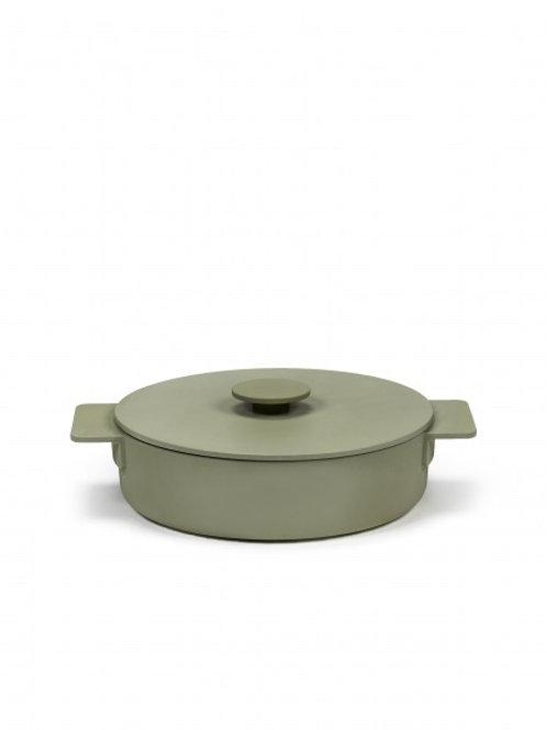 Cocotte surface vert 2,6 litres 32 cm