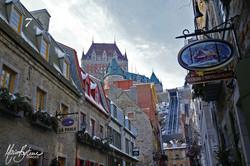 Rue sous le fort , Québec