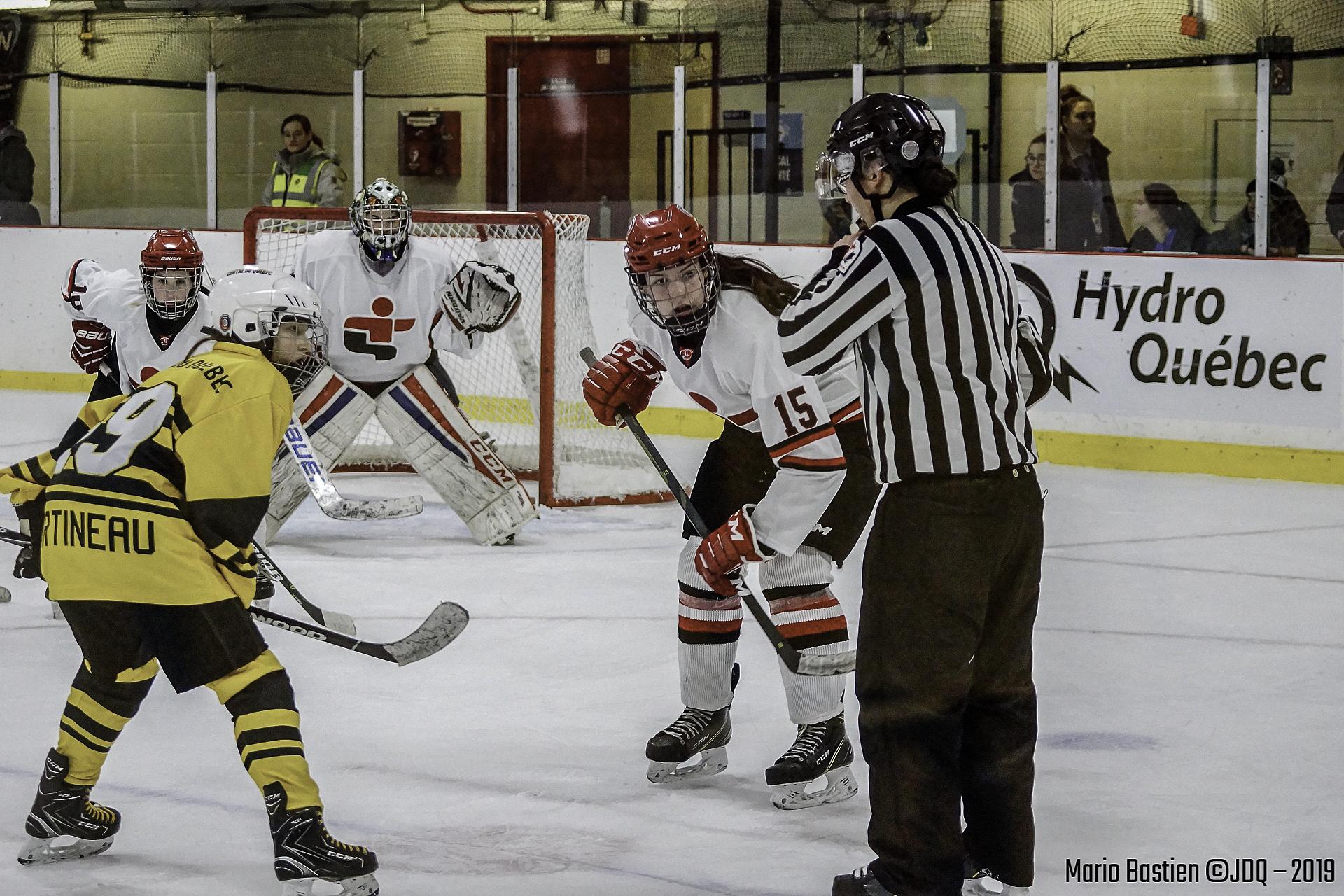 Hockey Fémin(Jeux Du Québec)
