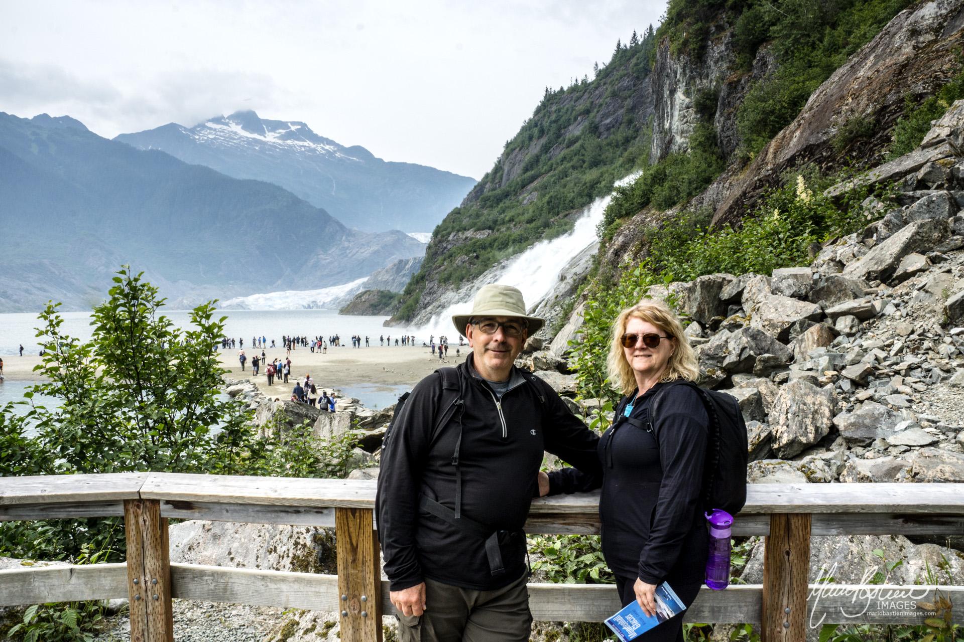 Glacier Mendenhall et Nugget Falls