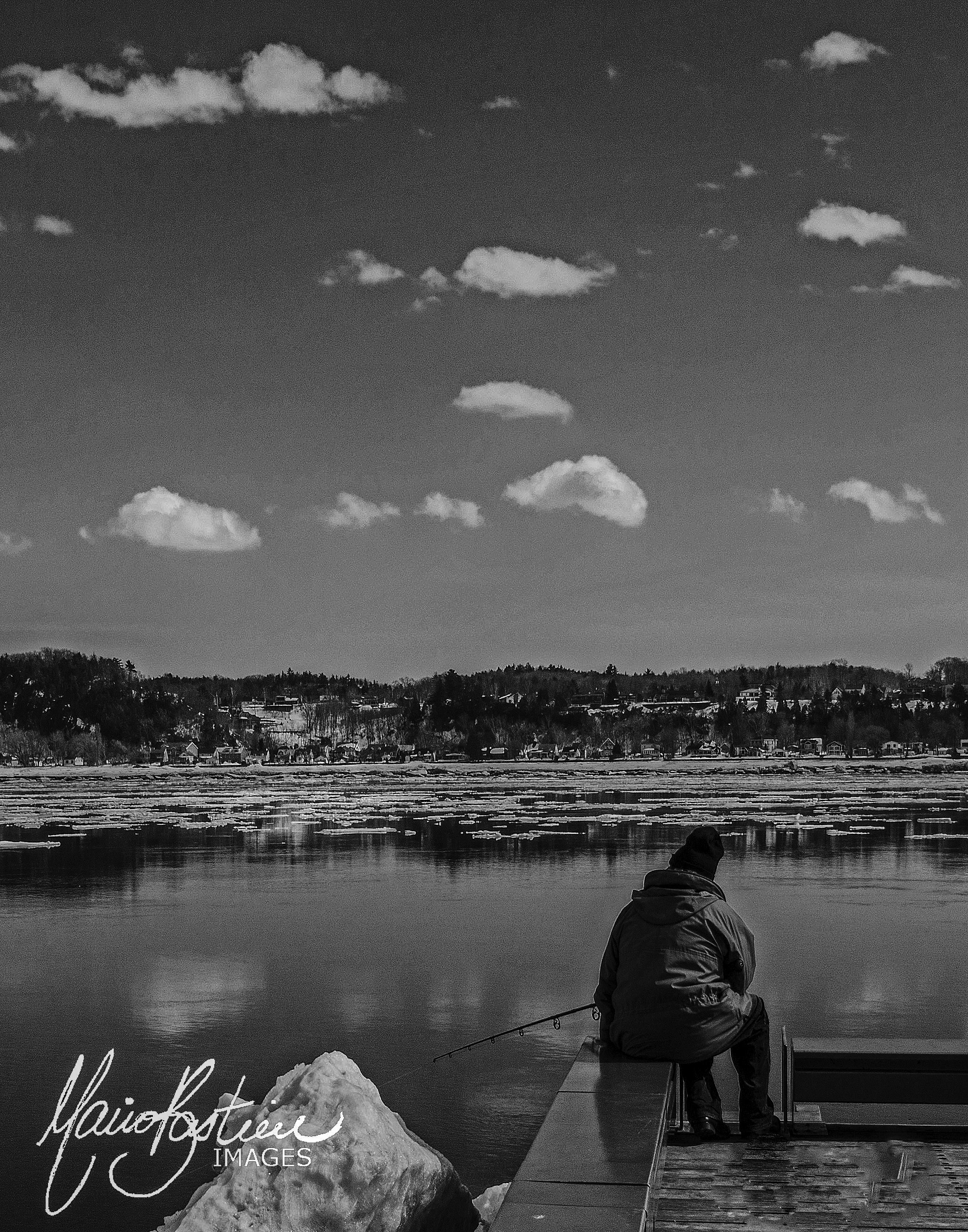 Pêche sur le quai