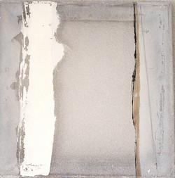Quadrat mit weiß
