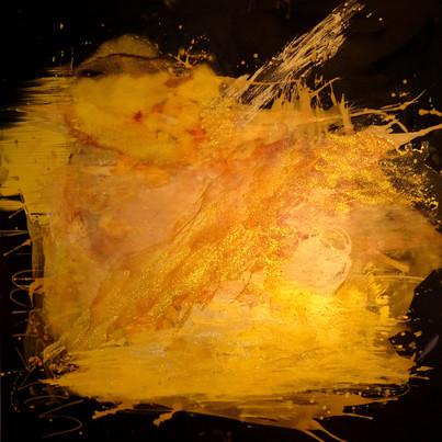 Goldrausch 2018 / 150x150 cm