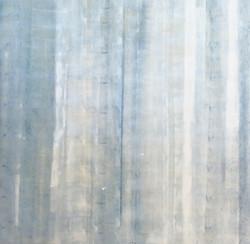Blau Vorhang
