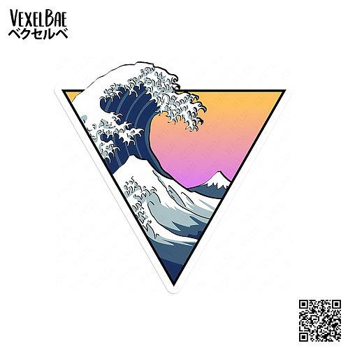 VexelBae - Great Wave of Kanagawa