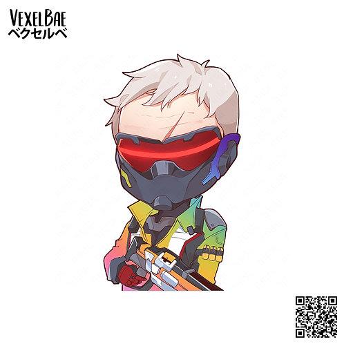 Overwatch - LGBT Soldier 76