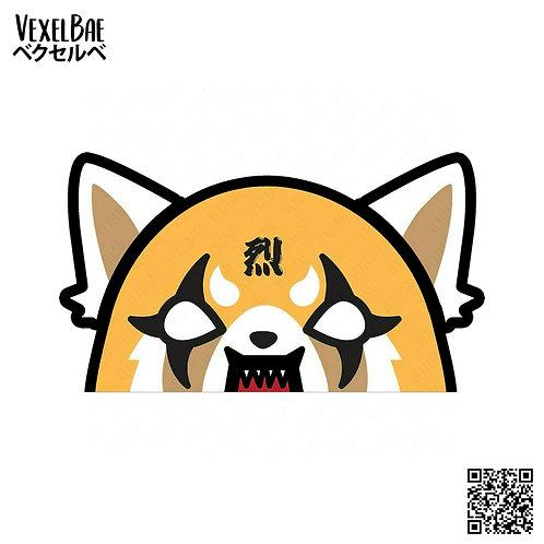 Aggretsuko - Angry Retsuko Peeker