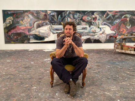 BEN QUILTY PORTRAIT 2020 - photographed