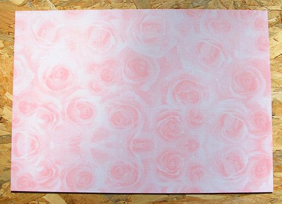 Papel Flores ROSA  176gr A4  x hoja