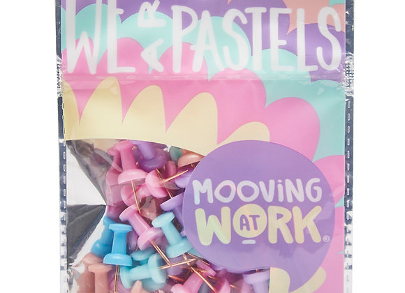 Pastel Push Pins 50u. - Mooving
