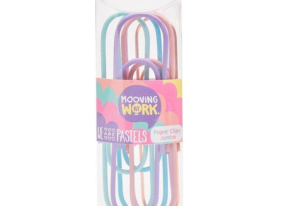 Pastel Jumbo Paper Clip - Mooving