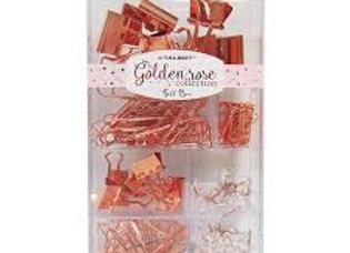 "GIFT BOX  ""GOLDEN ROSE"" PVC SURTIDO 6 div"