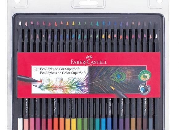 Ecolapiz SUPERSOFT  x 50 - Faber - Castell