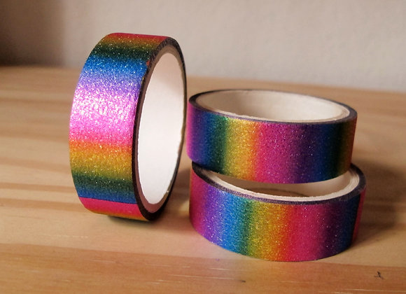 Washitape metalizada arcoiris